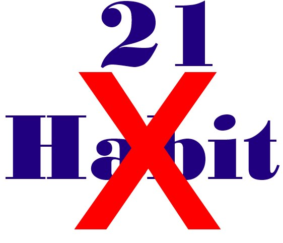 21 DAys to break Habit