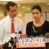 New York Mayor campaign Anthony Weiner, Huma Abedin, SExting Scandal