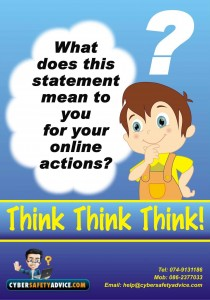 Think,Think,Think, How to stay safe online