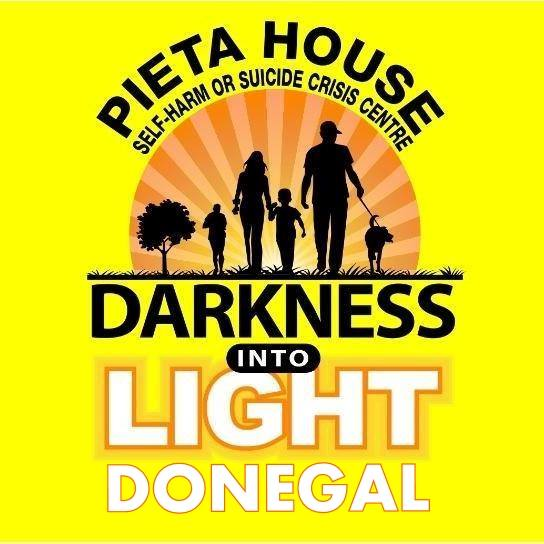 pieta house, darkness into light event, letterkenny donegal 5km walk, suicide