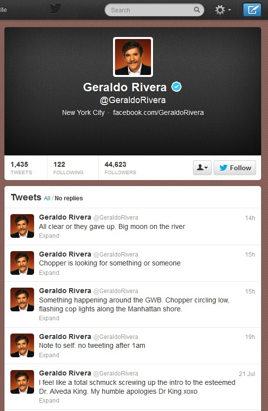 Geraldo Rivera apologises for nude