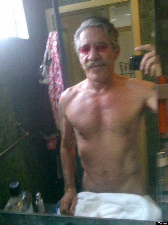 Geraldo Rivera Semi Nude Selfie