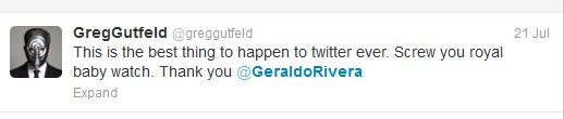 Greg Gutfeld on Geraldo Rivera Image