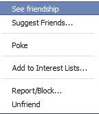 Block, Unfriend Report Facebook Friend