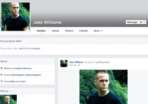 Jake Williams Facebook troll