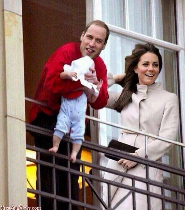 Kate Middleton & Prince William Show Off Baby Boy Hours