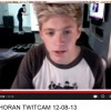 Niall Horan caught on webcam