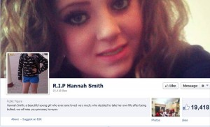 Hannah SMith Memorial Page