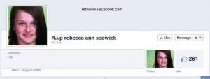 rebecca ann sedwick facebook memorial page R.I.P