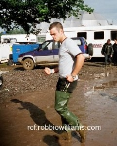 Robbie Williams 1998 Slane