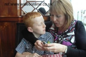 simon brooks with mother julie brooks wales overdose bullying